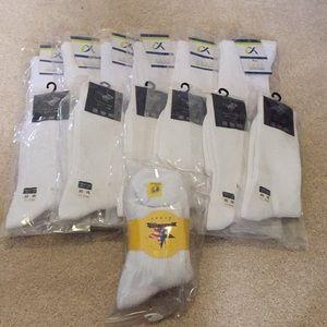 15 White socks